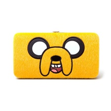 Кошелек Adventure Time Jake Bigface Girl Hinge Wallet